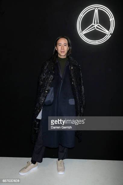 William Fan attends the MercedesBenz #MBCOLLECTIVE Chapter 1 launch party with M I A and Tommy Genesis on March 23 2017 in London United Kingdom