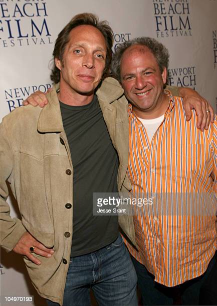 William Fichtner and Michael Traeger director during 2006 Newport Beach Film Festival 'The Amateurs' Screening at Edward's Island Cinemas in Newport...