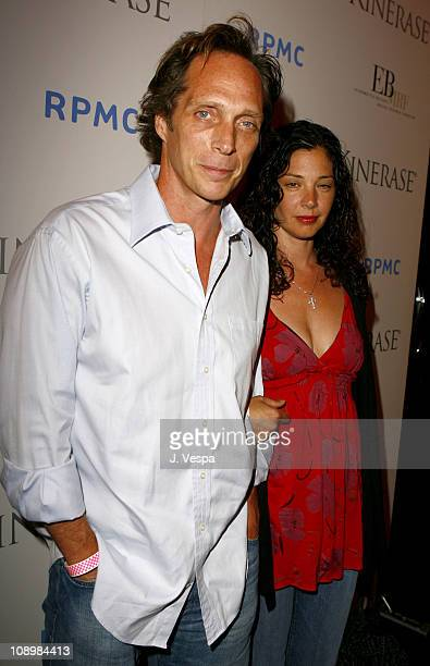 William Fichtner and wife during A Night At The Comedy Store To Benefit The EB Medical Research Foundation Sponsored By Kinerase Red Carpet at The...