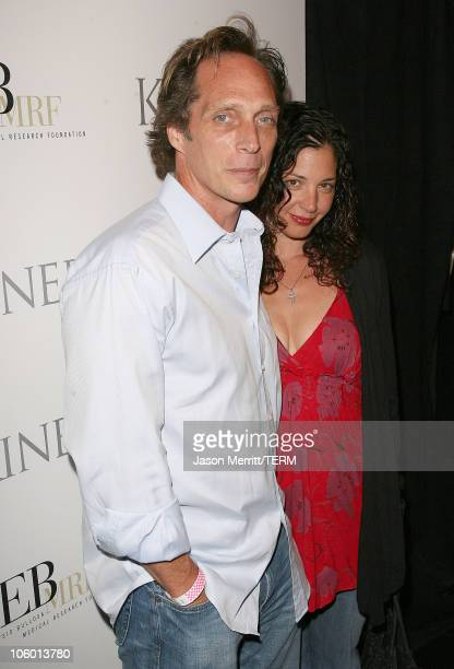 William Fichtner and wife during 'E Bingo' Charity Benefit For Epidermolysis Bullosa Arrivals at The Comedy Store in Hollywood California United...