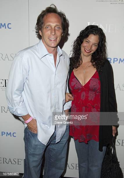William Fichtner with his wife Kymberly Kalil Fichtner