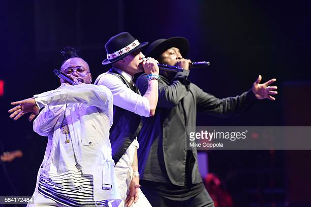 william front man for The Black Eyed Peas performs with The Black Eyed Peas members' apldeap and Taboo at the Rock The Vote's Truth To Power Closing...