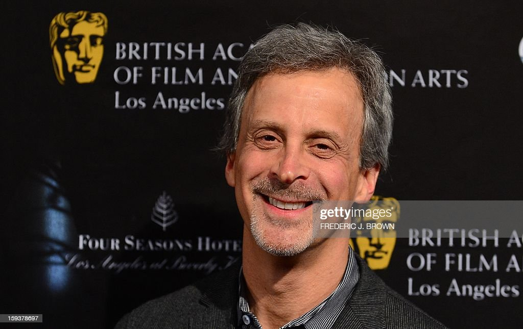 William Goldenberg poses on arrival for the British Academy of Film and Television Arts (BAFTA) Los Angeles Awards Season Tea Party on January 12, 2013 in Beverly Hills, California. AFP PHOTO / Frederic J. BROWN