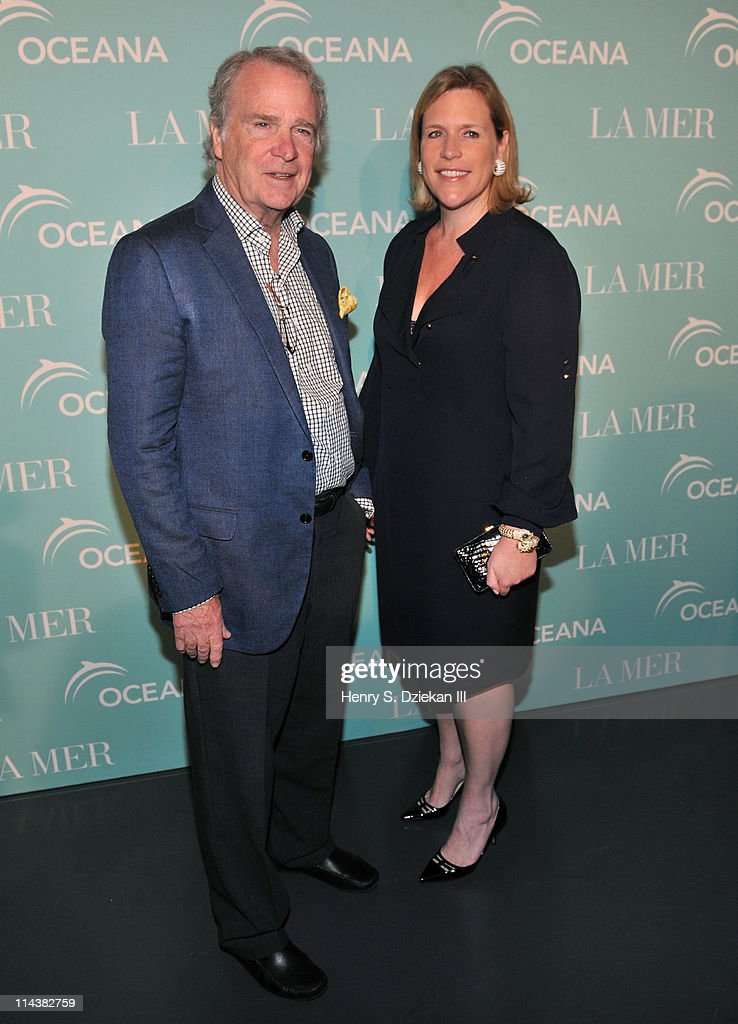 William Gubelmann and Marjorie Gubelmann attend World Ocean Day 2011 celebrated by La Mer and Oceana at Affirmation Arts on May 18, 2011 in New York City.