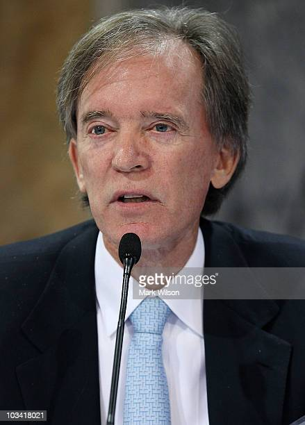 William H Gross of PIMCO participates in a conference on the future of housing finance at the Treasury Department on August 17 2010 in Washington DC...