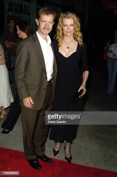 William H Macy and Kim Basinger during 'Cellular' Los Angeles Premiere Arrivals at Cinerama Dome in Hollywood California United States