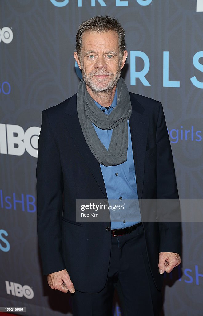William H. Macy attends the HBO 'Girls' season 2 premiere at the NYU Skirball Center on January 9, 2013 in New York City.