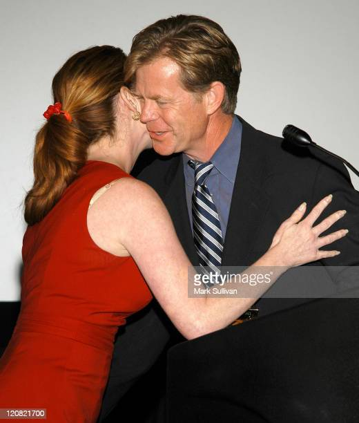 William H Macy awarded Perspectives Media Award by Melissa Gilbert
