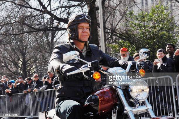 William H Macy during 'Wild Hogs' Atlanta Press Conference at Georgia State Capitol in Atlanta Georgia United States