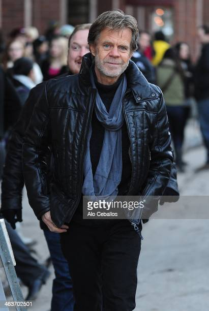 William H Macy is seen at sundance Festival on January 18 2014 in Park City Utah