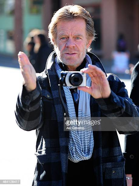 William H Macy is seen at Sundance Festival on January 20 2014 in Park City Utah