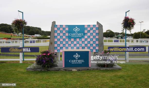 William Hill branding at Cartmel Racecourse Cartmel Cumbria PRESS ASSOCIATION Photo Picture date Monday August 25 2014 See PA story RACING Cartmel...