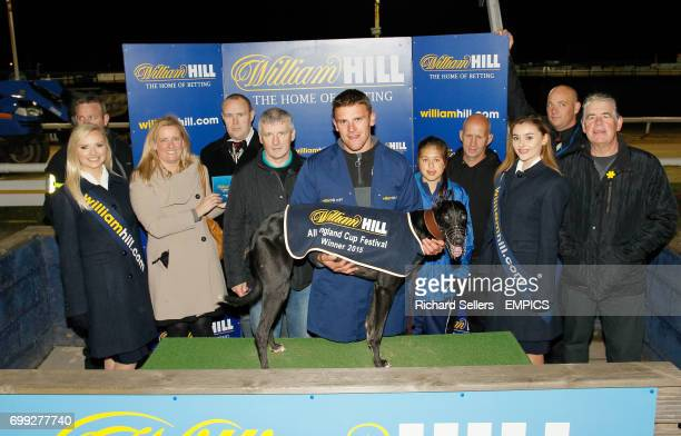 William Hill Exclusive Mobile Offers Sprint winner DROOPYS ALESSIO James Wright All England Cup final Newcastle Greyhound Stadium