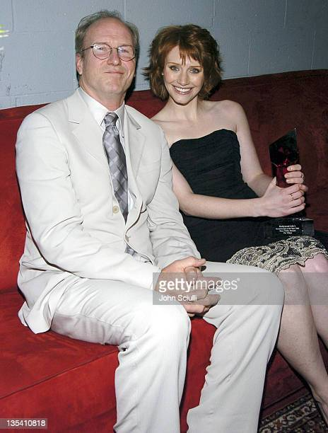 William Hurt and Bryce Dallas Howard during Hollywood Life's 4th Annual Breakthrough of the Year Awards Audience and Backstage at Henry Ford Music...