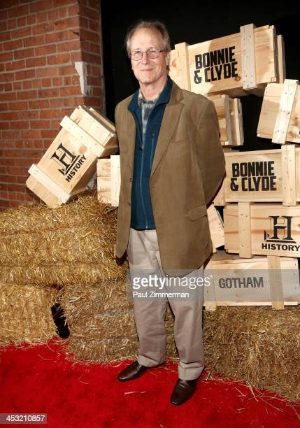 William Hurt attends the 'Bonnie And Clyde' series premiere at The McKittrick Hotel on December 2 2013 in New York City