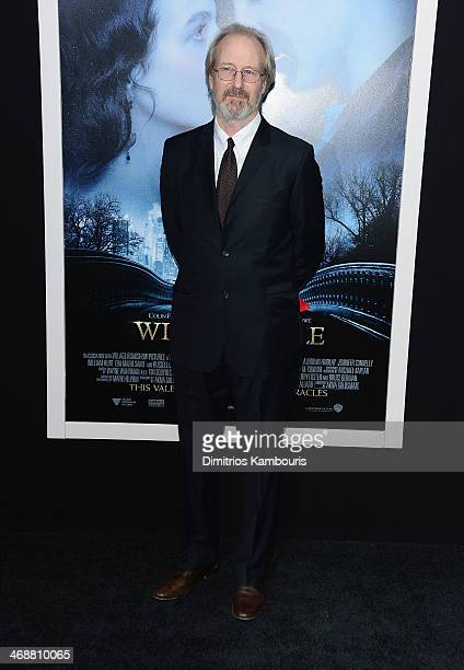 William Hurt attends the 'Winter's Tale' world premiere at Ziegfeld Theater on February 11 2014 in New York City