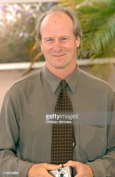 William Hurt during 2005 Cannes Film Festival 'History of Violence' Photocall in Cannes France