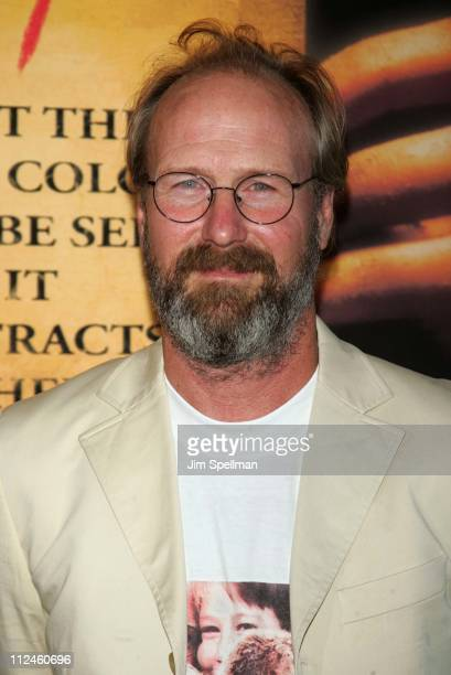 William Hurt during 'The Village' New York Premiere Arrivals at Prospect Park in New York City New York United States