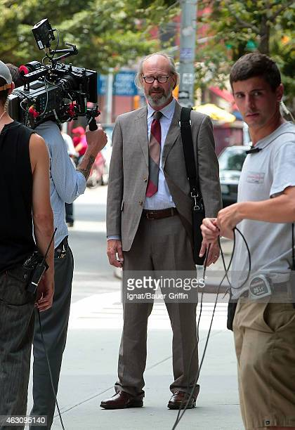 William Hurt is seen on the movie set of 'The Disappearance of Eleanor Rigby' on August 06 2012 in New York City