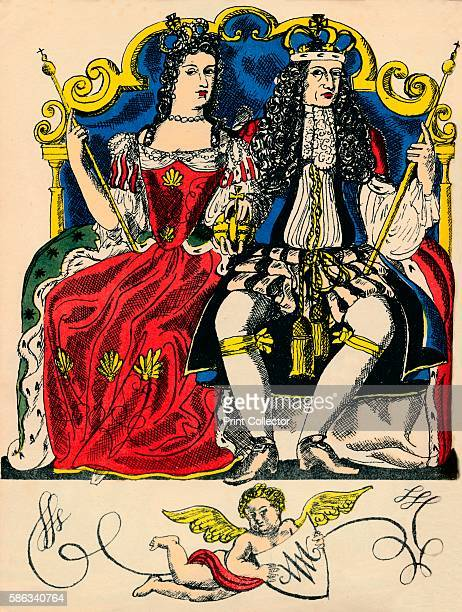 William III and Mary II King and Queen of Great Britain and Ireland from 1688 The Protestant William of Orange and Mary Stuart came to the throne...