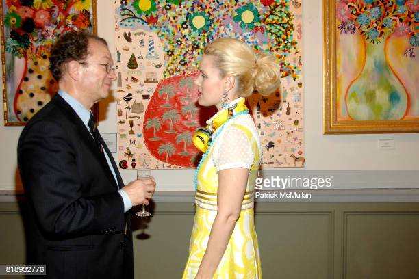 William Ivey Long and MichelleMarie Heinemann attend MICHELLEMARIE HEINEMANN and TERRI LINDVALL'S Lecture and Private Dinner to benefit the YORKVILLE...