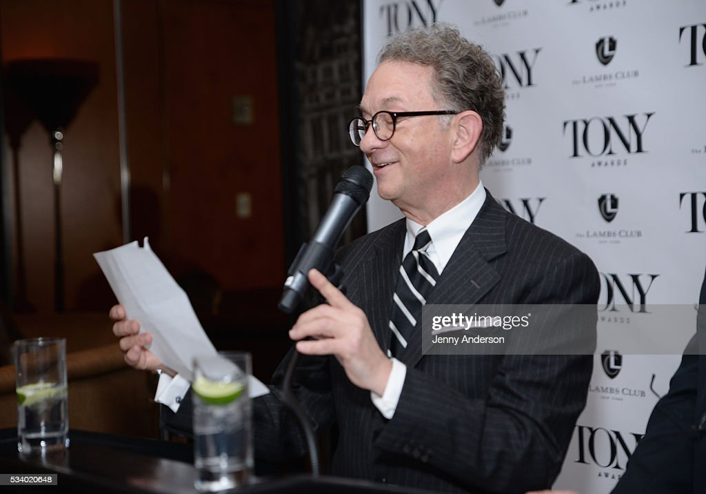 <a gi-track='captionPersonalityLinkClicked' href=/galleries/search?phrase=William+Ivey+Long&family=editorial&specificpeople=1794786 ng-click='$event.stopPropagation()'>William Ivey Long</a> speaks during A Toast To The 2016 Tony Awards Creative Arts Nominees at The Lambs Club on May 24, 2016 in New York City.