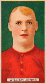 William Jones captain of Swindon FC featured on a vintage cigarette card published in London circa 1908