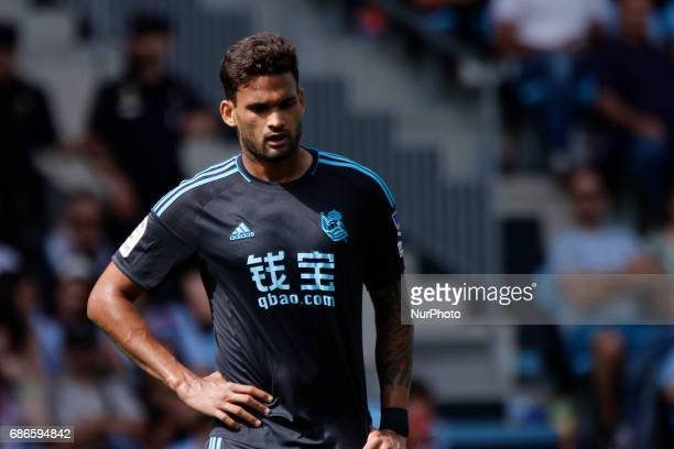 William Jose forward of Real Sociedad de Futbol during the La Liga Santander match between Celta de Vigo and Real Sociedad de Futbol at Balaidos...