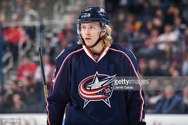 William Karlsson of the Columbus Blue Jackets skates against the Montreal Canadiens on November 4 2016 at Nationwide Arena in Columbus Ohio Columbus...