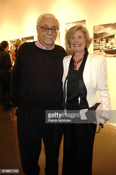 William Krisel and Corinne Krisel attend SPFa Gallery at MODAA presents the architecture of William Krisel at SPFa Gallery at MODAA on October 17...