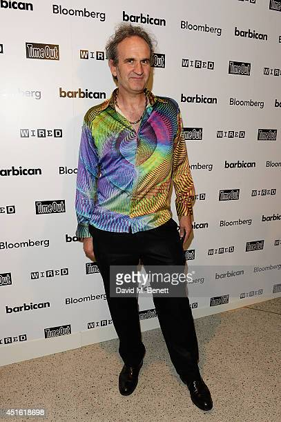 William Latham attends an Exclusive Reception for Digital Revolution showing at Barbican Centre from 3 July through to 14 September 2014...