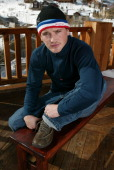William Lee Scott in Hush Puppies and The North Face *Exclusive*