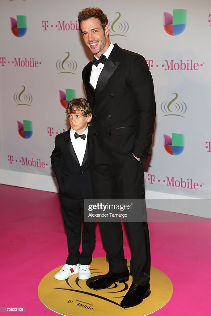 <a gi-track='captionPersonalityLinkClicked' href=/galleries/search?phrase=William+Levy&family=editorial&specificpeople=4194502 ng-click='$event.stopPropagation()'>William Levy</a> (R) and son attend Premio Lo Nuestro a la Musica Latina 2014 at American Airlines Arena on February 20, 2014 in Miami, Florida.
