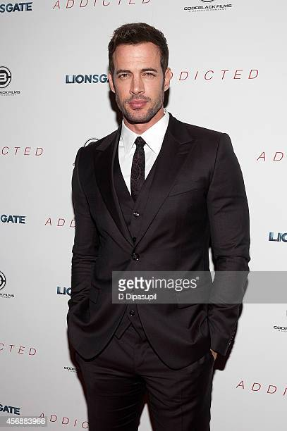 William Levy attends the 'Addicted' New York Premiere at Regal Union Square on October 8 2014 in New York City