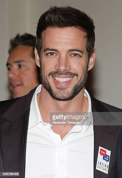 William Levy is seen at the Latino Victory Project Rally at Florida International University on November 2 2014 in Miami Florida