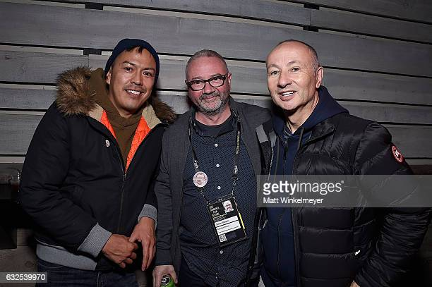 William Luther International Documentary Association Executive Director Simon Kilmurry and producer Fenton Bailey attend the Film Independent...