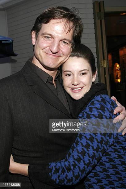 William Mapother and Shailene Woodley during 2007 Newport Beach Film Festival 'Moola' Premiere at Lido Regency Theatre in Newport Beach California...