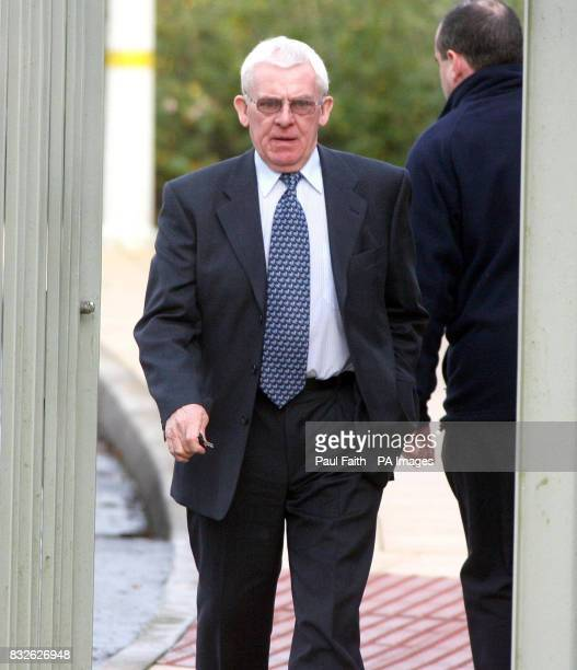 William McCollum who is a friend and business associate of Irish Rugby Player Mick Doyle leaves an inquest into his death at Dungannon Coroners court