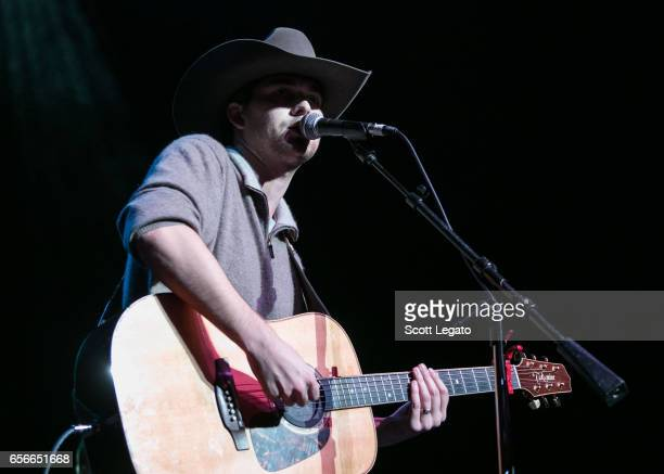 William Michael Morgan performs at The Fillmore Detroit on March 22 2017 in Detroit Michigan