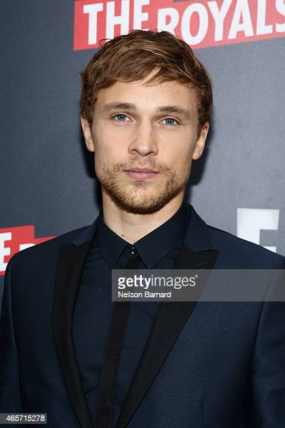 William Moseley attends 'The Royals' New York Series Premiere at The Standard Highline on March 9 2015 in New York City
