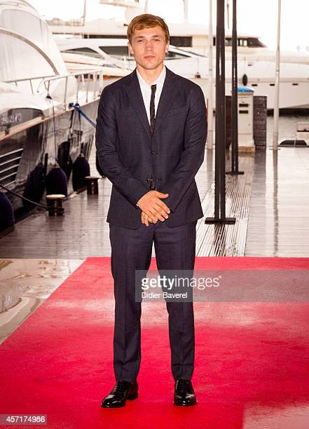 William Moseley poses during the photocall of 'The Royals' at Mipcom 2014 on October 13 2014 in Cannes France
