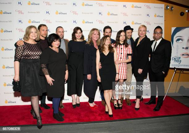 William Moseley Susan Cartsons Vanessa Bayer Susan Johnson Caren Lissner Colin O'Donoghue Bel Powley Desmin Borges and Suzanne McNeill Farwell...