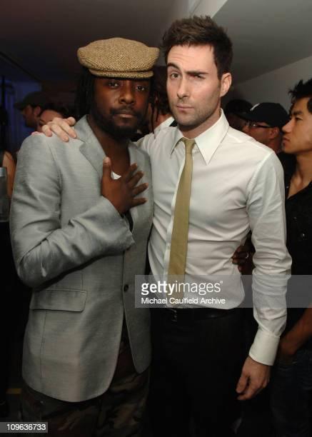 William of Black Eyed Peas and Adam Levine of Maroon 5 *Exclusive*
