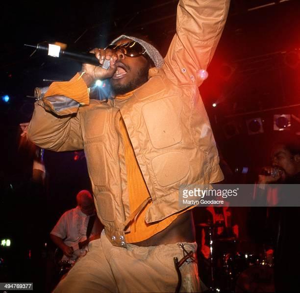 WillIAm of Black Eyed Peas performs on stage London United Kingdom 2001