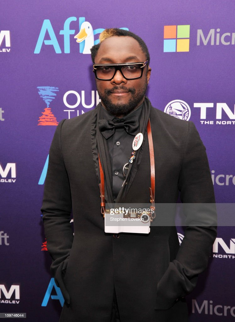 will.i.am of the Black Eyed Peas attends the Generation Now Inaugural Youth Ball hosted by OurTime.org on January 19, 2013 in Washington, United States.