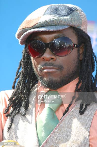 WillIam of the Black Eyed Peas during 2005 BET Awards Arrivals at Kodak Theatre in Los Angeles California United States