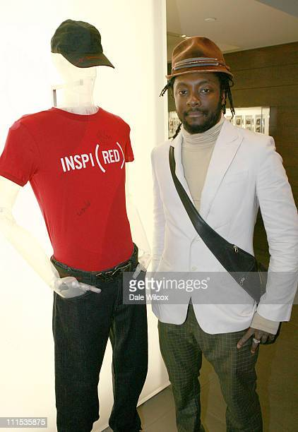 william of the Black Eyed Peas during World Aids Day at Emporio Armani at Emporio Armani Store in Beverly Hills California United States