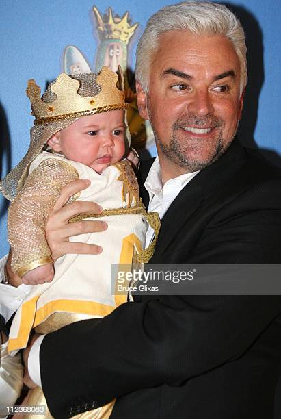 William O'Hurley and John O'Hurley during Opening Night For 'Spamalot' At The Wynn Las Vegas Arrivals at Wynn Hotel Casino in Las Vegas Nevada United...