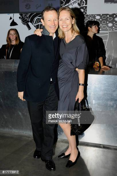 William Palmer and Anne Thurston Palmer attend New Museum VIP Preview of THE LAST NEWSPAPER Opening at New Museum on the Bowery on October 5 2010 in...