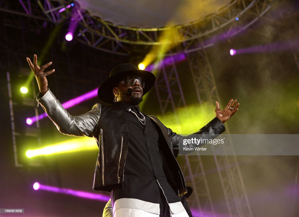 will.i.am performs at 102.7 KIIS FM's Wango Tango 2013 held at The Home Depot Center on May 11, 2013 in Carson, California.